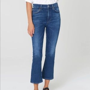 Citizen of Humanity Demy Cropped Flare Jeans